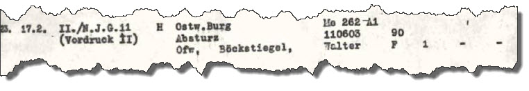 GQM Verlust 1945-02-17