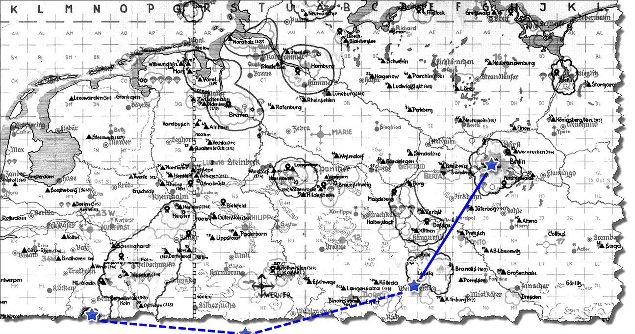 Einflug 1944-10-11