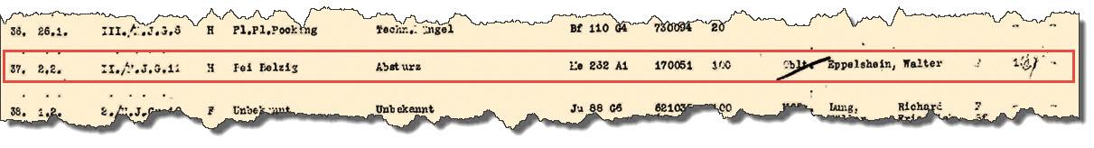 1945-02-02 - GQM Verlust