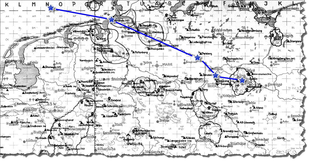 Einflug 1945-03-04