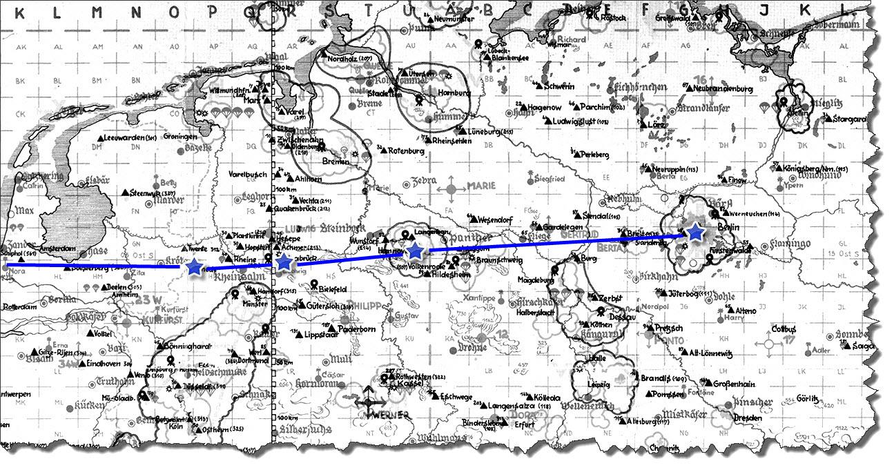 Einflug 1945-03-06