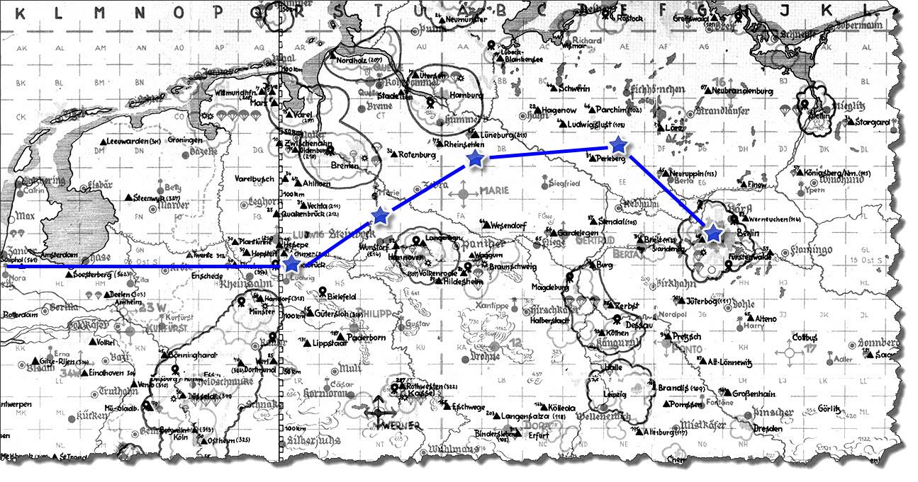 Einflug 1945-03-08