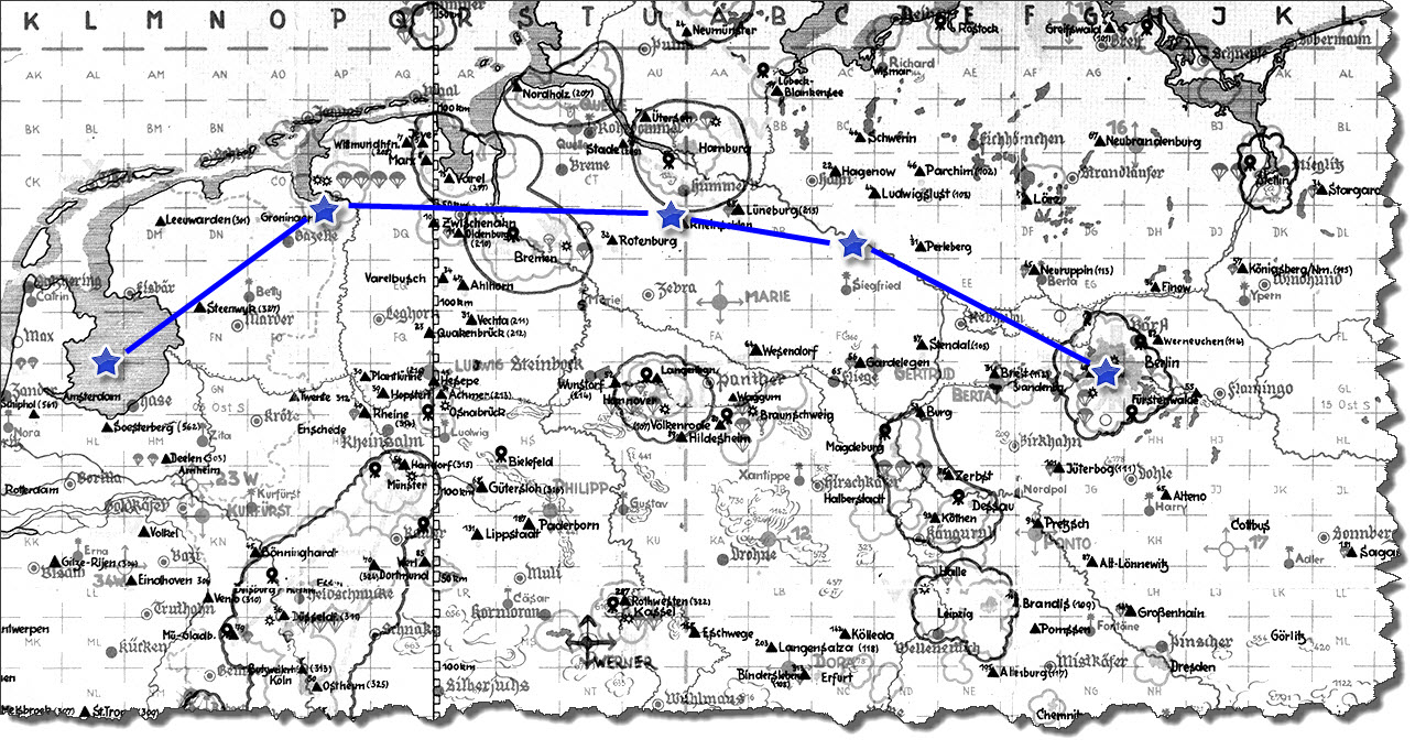Einflug 1945-03-09