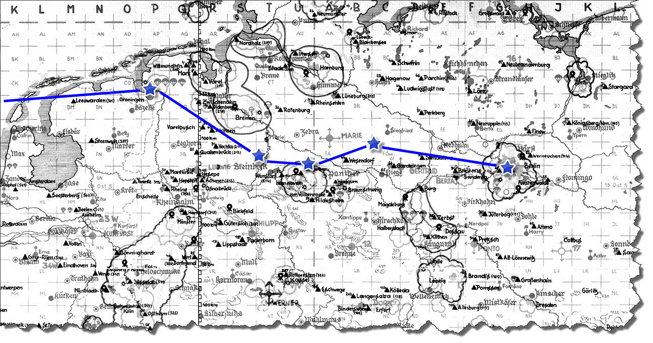 Einflug 1945-03-12