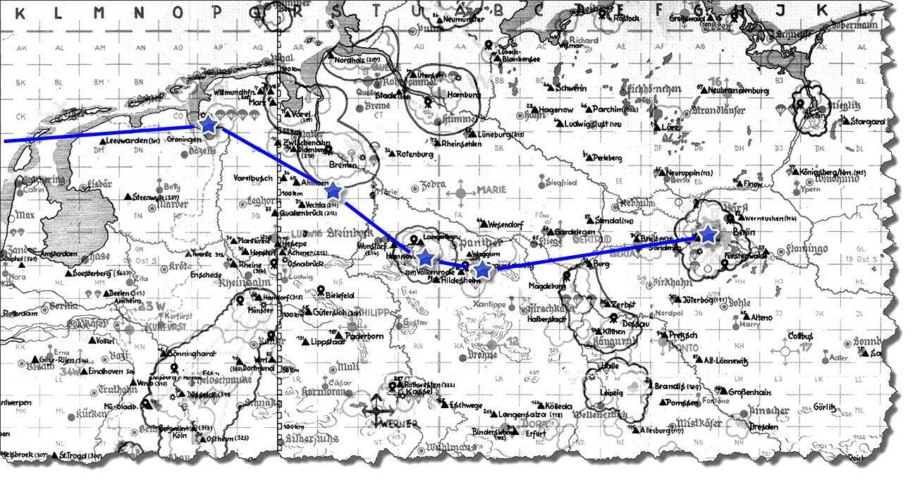 Einflug 1945-03-13