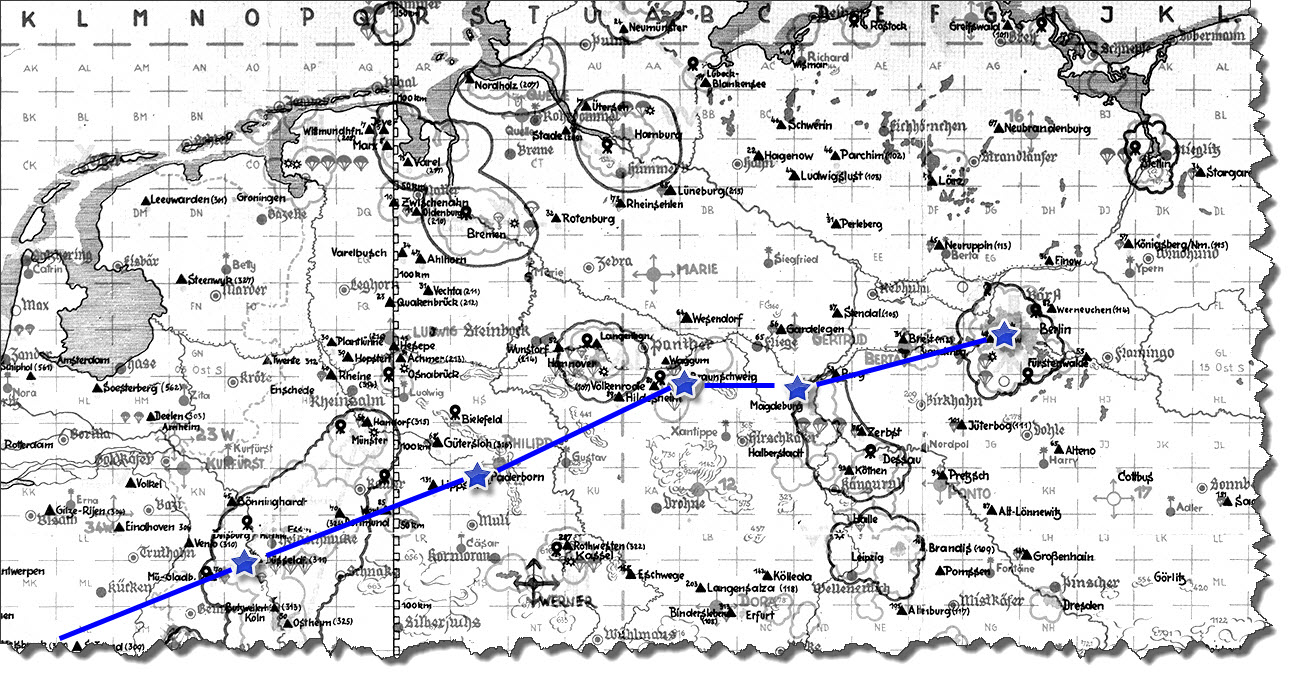 Einflug 1945-03-16