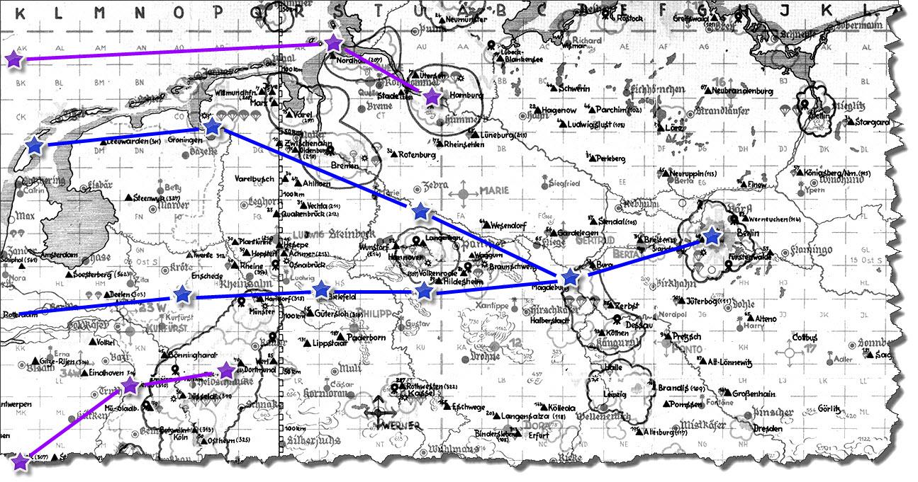 Einflug 1945-03-21