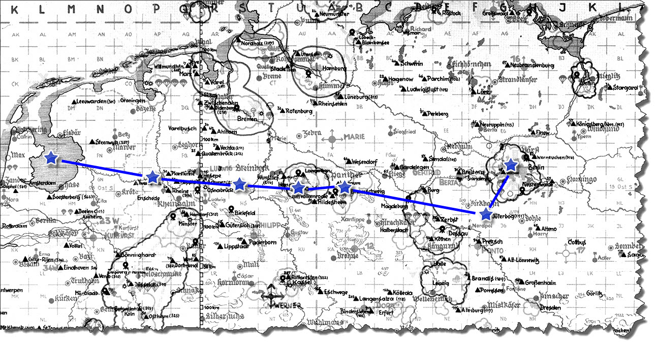 Einflug 1945-03-22