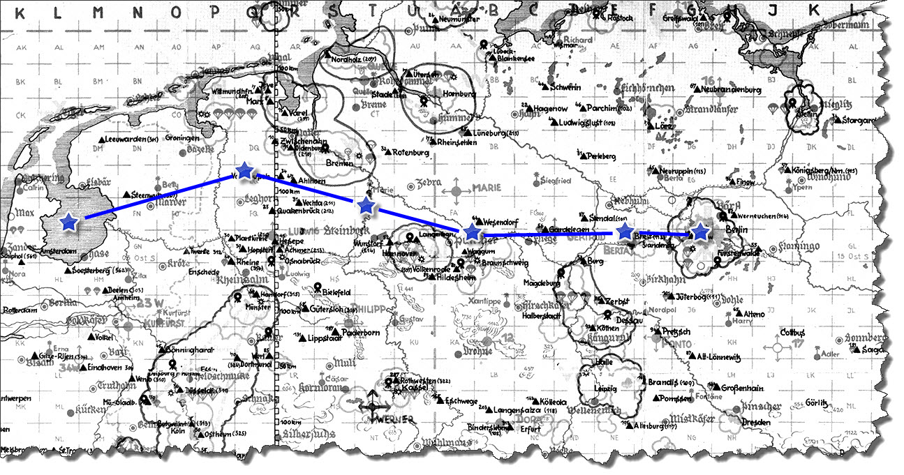 Einflug 1945-03-23