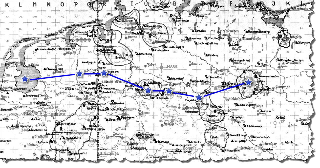 Einflug 1945-03-25