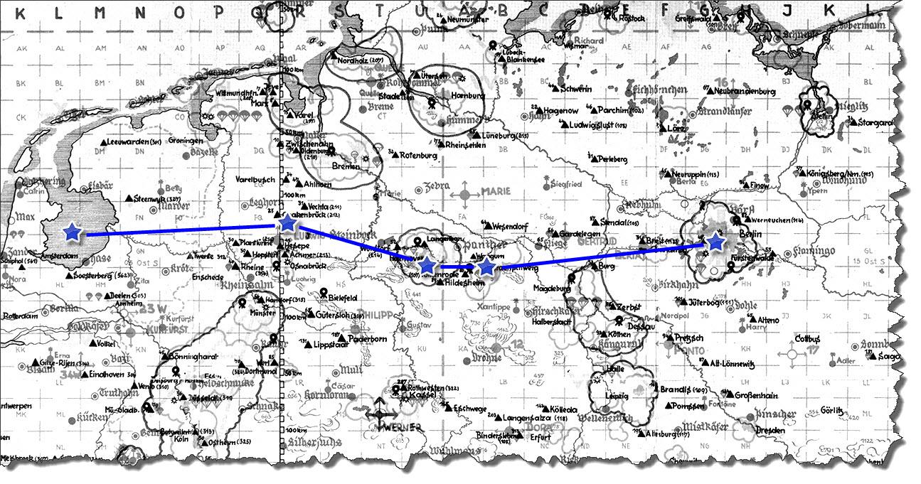 Einflug 1945-03-26
