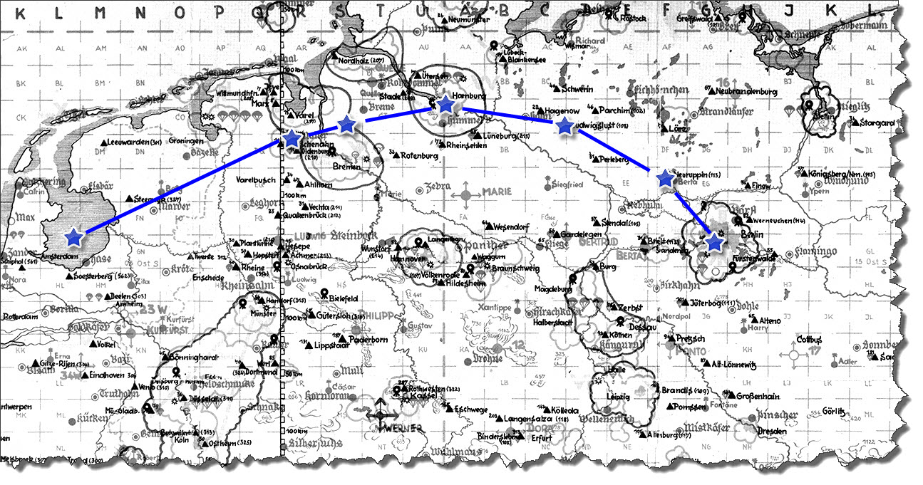 Einflug 1945-03-29