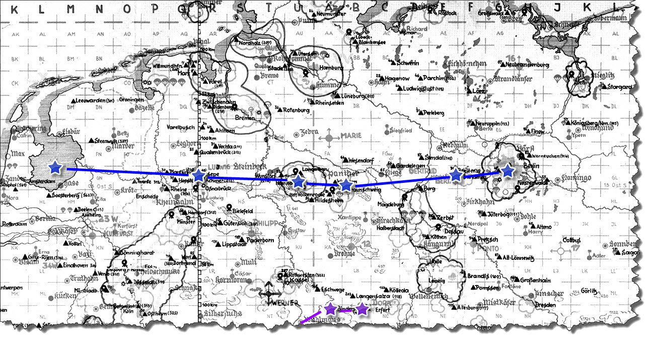 Einflug 1945-03-30