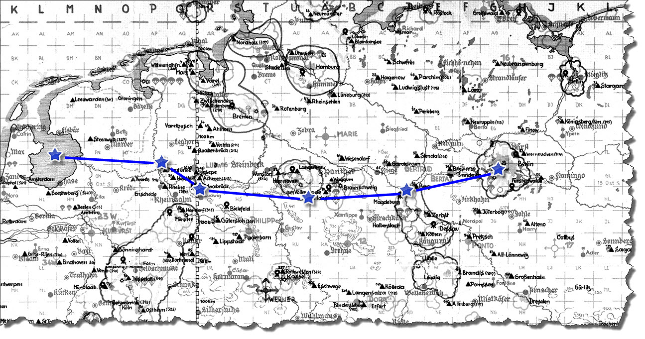 Einflug 1945-04-02