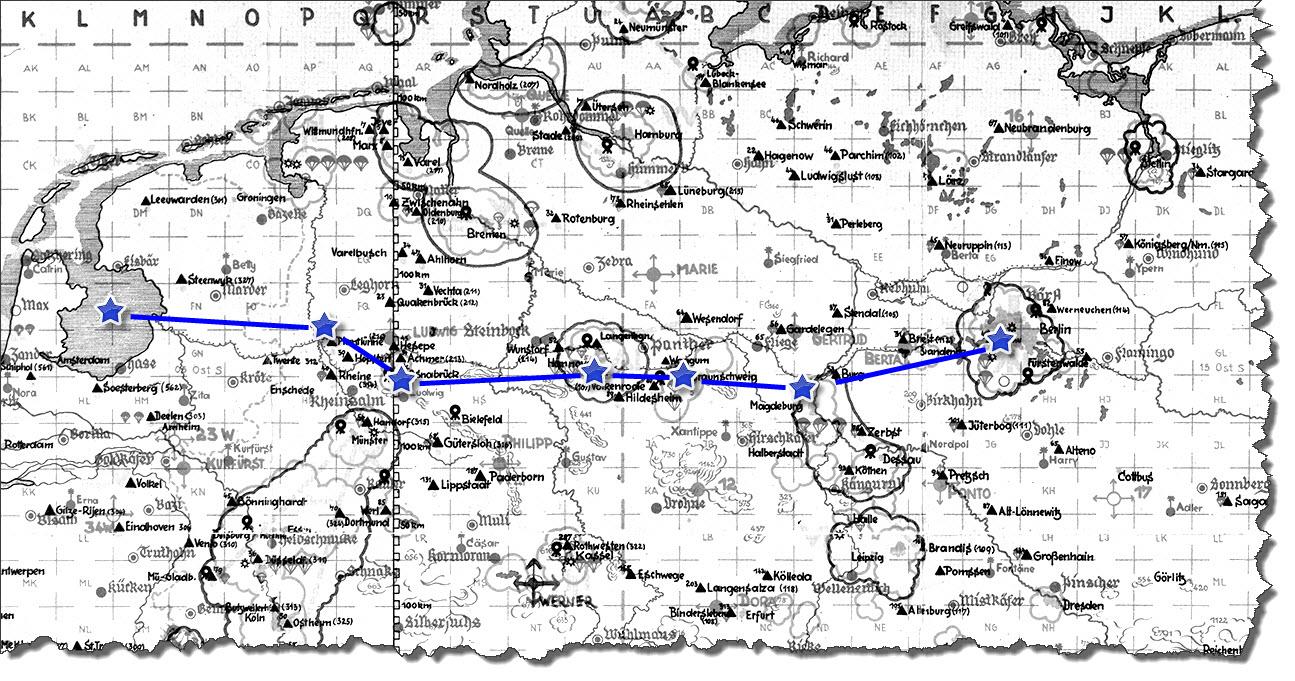 Einflug 1945-04-03