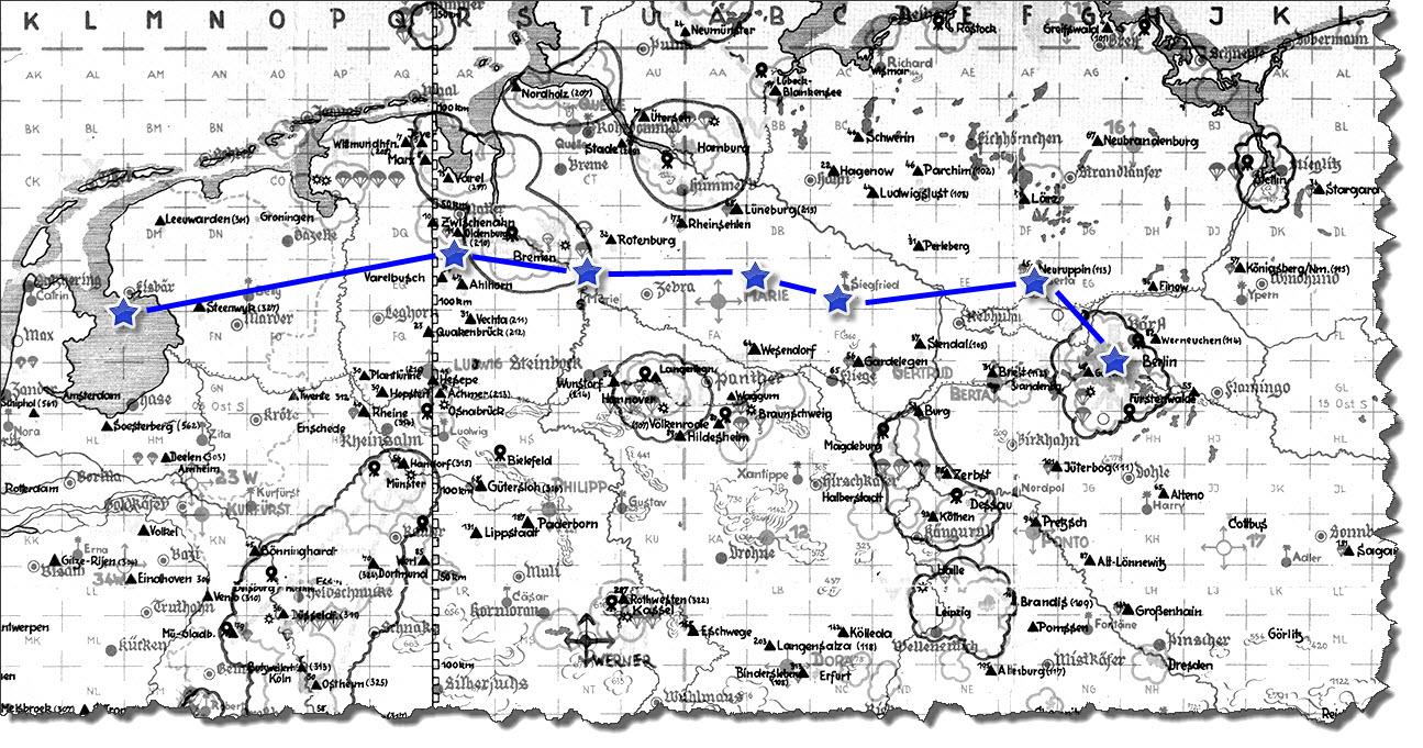 Einflug 1945-04-08