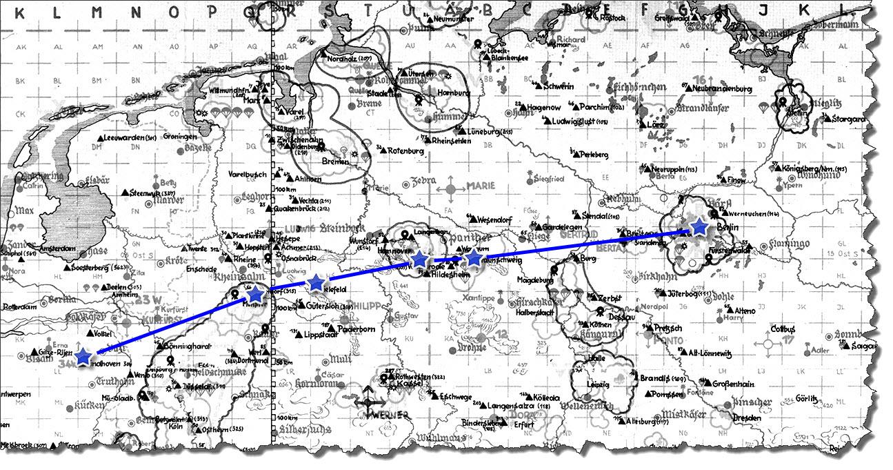 Einflug 1945-04-09